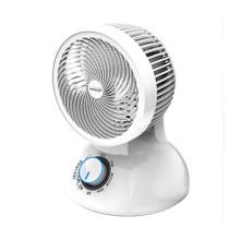 See Details - Brentwood F-650MW 6-Inch 3-Speed Oscillating Air Circulator Desktop Fan, White