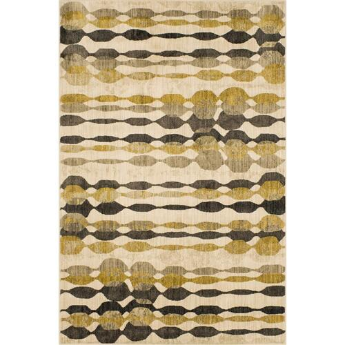 """Expressions Acoustic Onyx 2' 4""""x7' 10"""" Runner"""