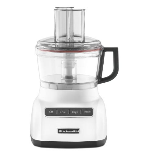 Refurbished 7-Cup Food Processor - White