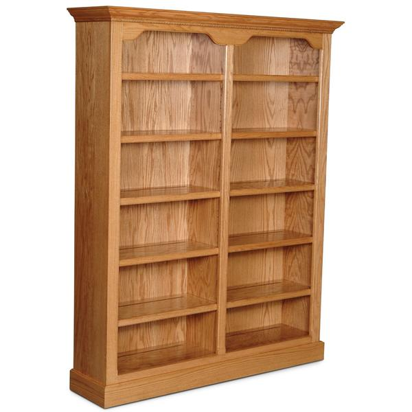 "Classic Tall Category I Bookcase, Classic Tall Category I Bookcase, 4-Adjustable Shelves, 58""w"