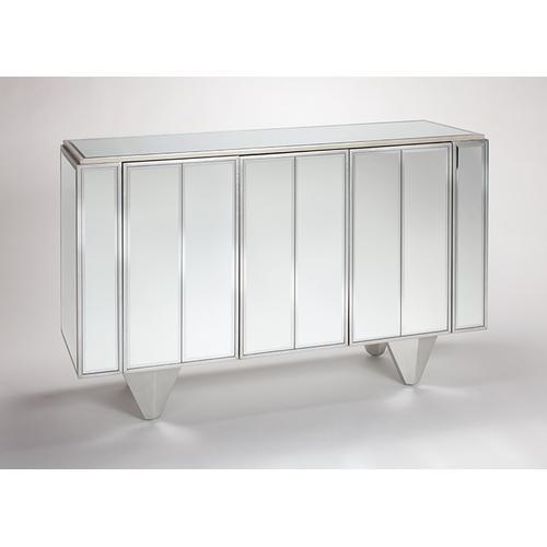 "Mirrored Cabinet 59x16x37"""
