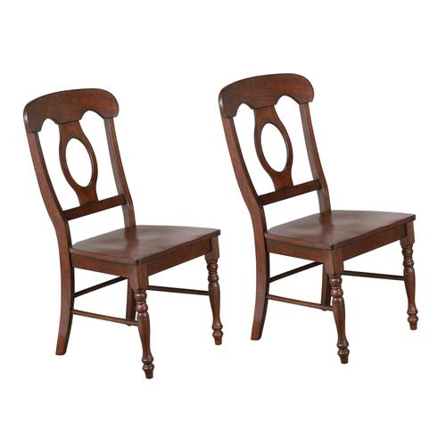 Napoleon Dining Chair - Chestnut (Set of 2)