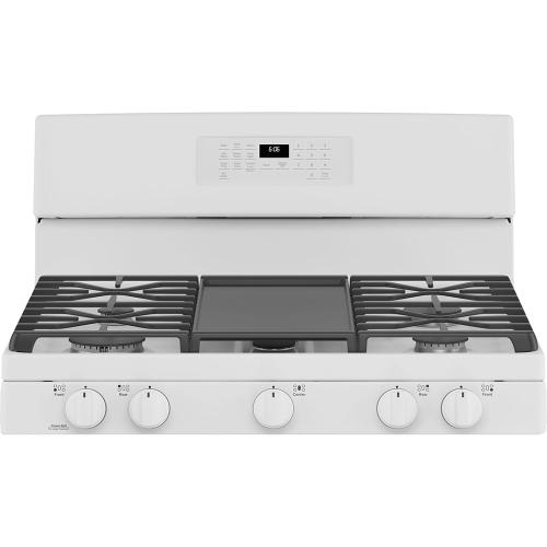 "GE 30"" Self-Clean Freestanding Gas Range White - JCGB660DPWW"