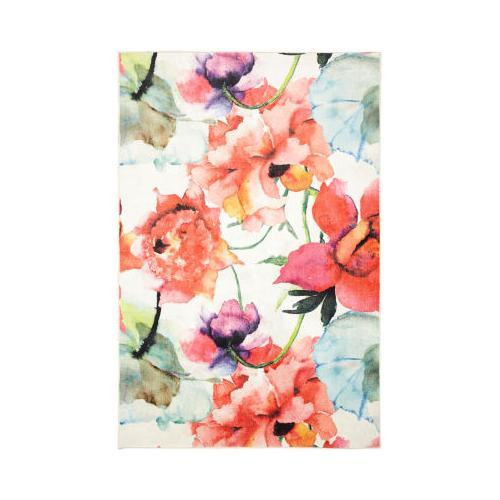 Mohawk - Watercolor Bouquet, Multi- Rectangle