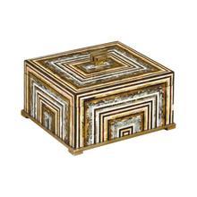 PINSTRIPE BOX