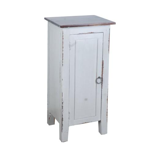 CC-TAB1032LD-AGOJ  1 Door Accent Cabinet  Antique Gray
