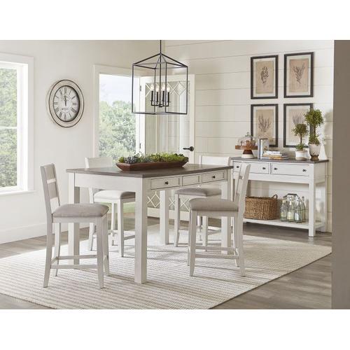 Standard Furniture - Kyle Light 2 Drawer Server, White