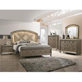 Cristal Queen Footboard