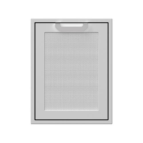 """Hestan - 20"""" Hestan Outdoor Trash/Recycle Drawer - AGTRC Series - Steeletto"""