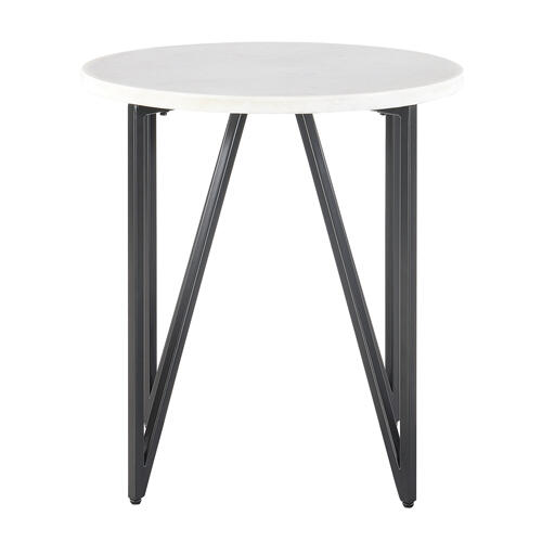 Elements - Cedric Round End Table