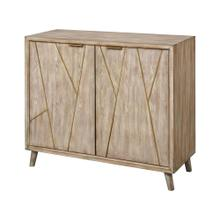 Edge 2-door Cabinet In Antique Fawn