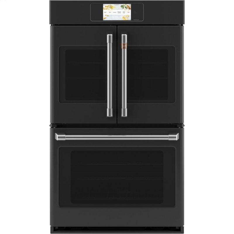 """Professional Series 30"""" Smart Built-In Convection French-Door Double Wall Oven"""