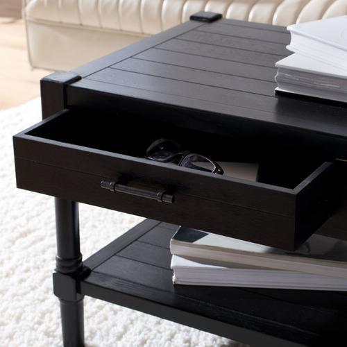 Safavieh - Filbert 2 Drawer Coffee Table - Black