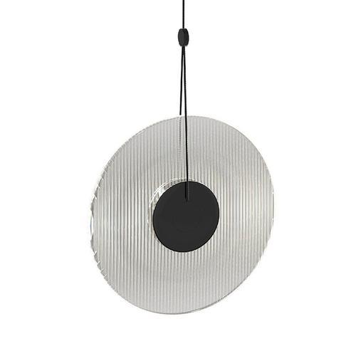 Sonneman - A Way of Light - Meclisse LED Pendant [Size=1-Light, Color/Finish=Satin Black w/Clear Glass]