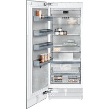 "400 series Vario freezer 400 series Niche width 30"" (76.2 cm) Fully integrated, panel ready"