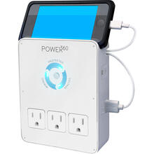 See Details - Power360 6 Outlet Wall Tap/Charging Station