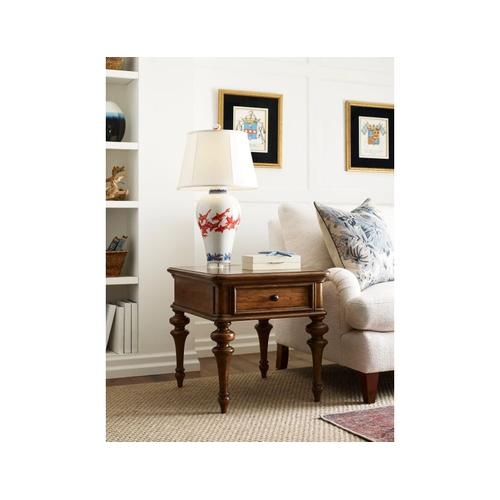 Gallery - Pearson Rectangular Drawer End Table