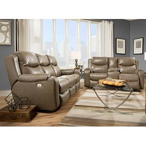 Marvel Fabric Reclining Sofa