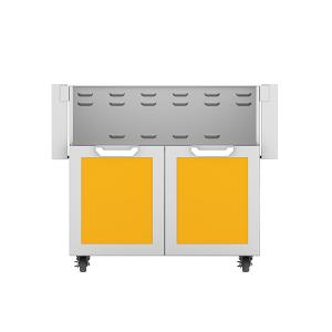 """36"""" Hestan Outdoor Tower Cart with Double Doors - GCD Series - Sol"""