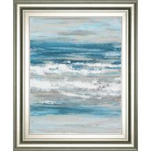"""At The Shore 1"" By Rita Vindedzis Framed Print Wall Art"