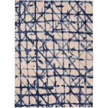 "Enigma Contact Indigo 2' 4""x7' 10"" Runner"