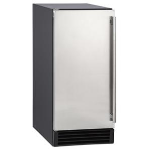 Maxx IceMaxx Ice 50 lb. Freestanding Icemaker in Stainless Steel and Black