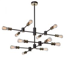 View Product - Tribeca AC10782BK Chandelier