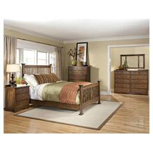 King Slat Bed Footboard