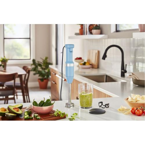 Variable Speed Corded Hand Blender - Blue Velvet