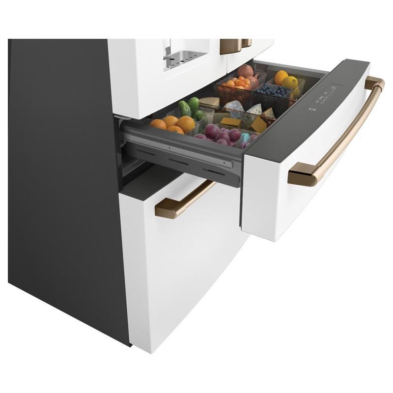 Café™ ENERGY STAR® 27.8 Cu. Ft. Smart 4-Door French-Door Refrigerator