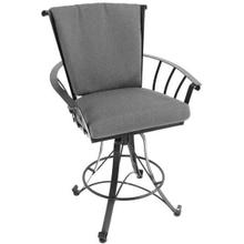 See Details - Vinings Counter Height Swivel Stool