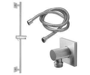 Slide Bar Handshower Kit - Cylinder Handle With Square Base Product Image