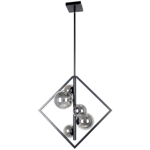 5lt Halogen Pendant Mb W/ Smoked Glass