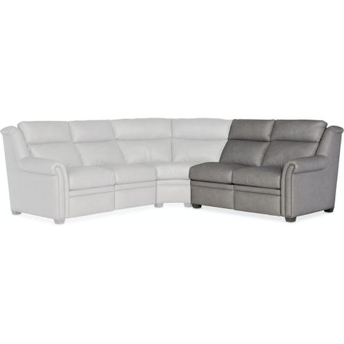 Product Image - Bradington Young Robinson RAF Loveseat Recliner At Arm w/ Articulating Headrest - Two Pc Back 206-56-2