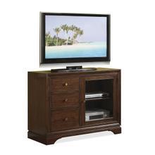 "Bella Vista 44"" TV Console Warm Transitional Cherry finish"