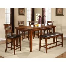 7 piece Figaro Ctr Height Dining Set