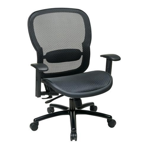 Black Mesh Back Chair