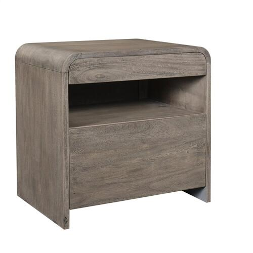 Waverly - Lateral File Cabinet - Sandblasted Gray Finish