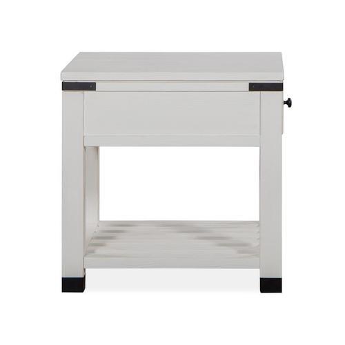 Magnussen Home - Shelf End Table