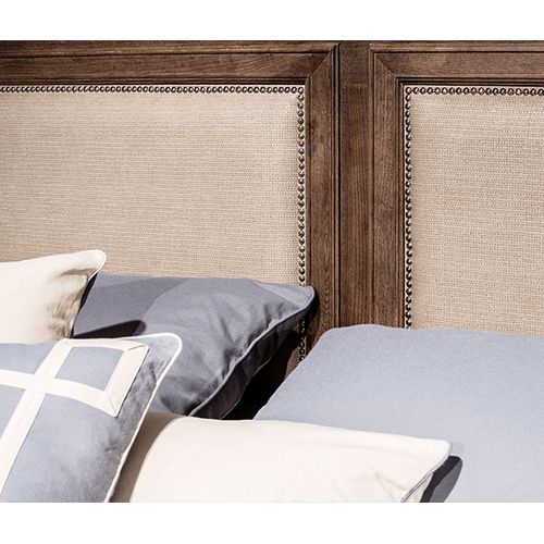 Biscayne West Cal King Panel Bed (3 pc) Haze