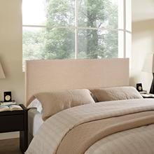View Product - Region Queen Upholstered Headboard in Cafe