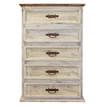 See Details - White Wash Chest