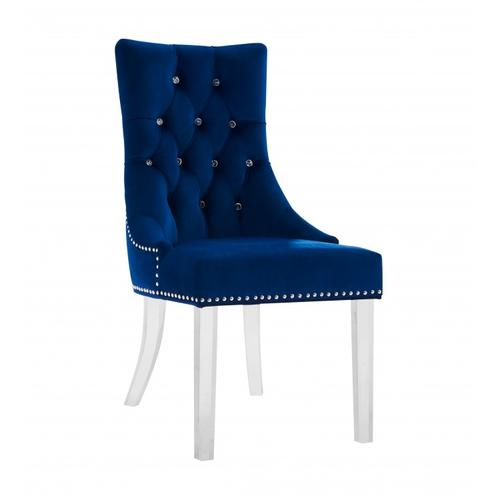 Armen Living Gobi Modern and Contemporary Tufted Dining Chair