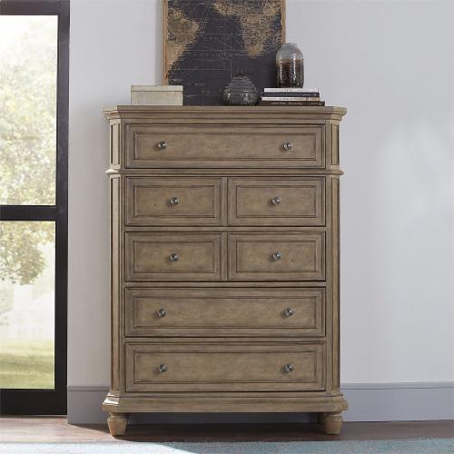 Opt Queen Panel Bed, Dresser & Mirror, Chest, N/S