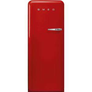 "Smeg24"" retro-style fridge, Red, Left-hand hinge"