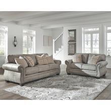 Olsberg Sofa and Loveseat Steel
