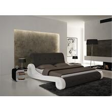 Modrest S610 - Contemporary Eco-Leather Bed