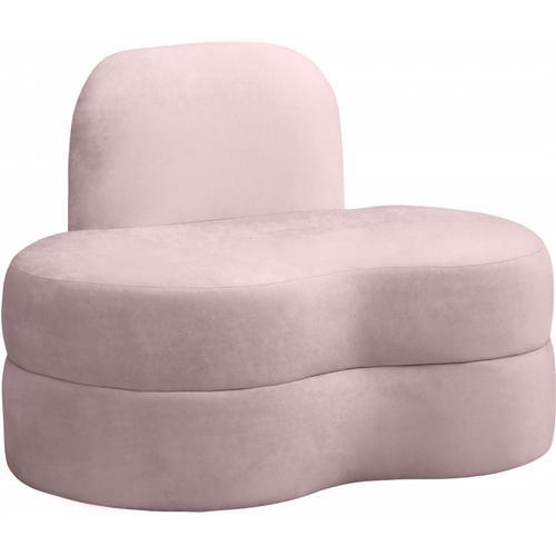 """Mitzy Velvet Chair - 44"""" W x 31.5"""" D x 32"""" H"""