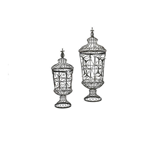 Cyan Designs - Brocade Urns 2pcs
