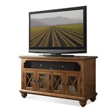 50-Inch TV Console Northwoods Oak finish